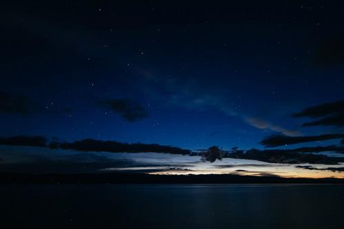 Звездное небо над Байкалом. Остров Ольхон