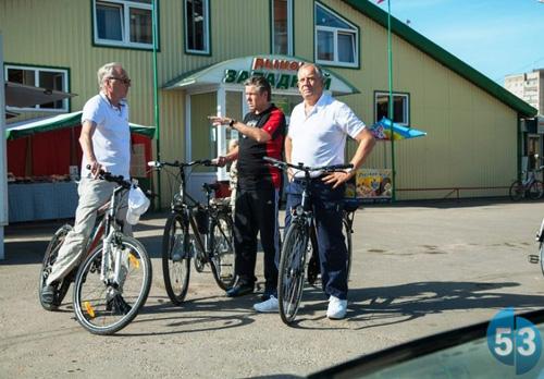 Сергей Митин совершил поездку на велосипеде
