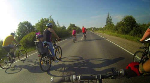 Небывалый велопробег