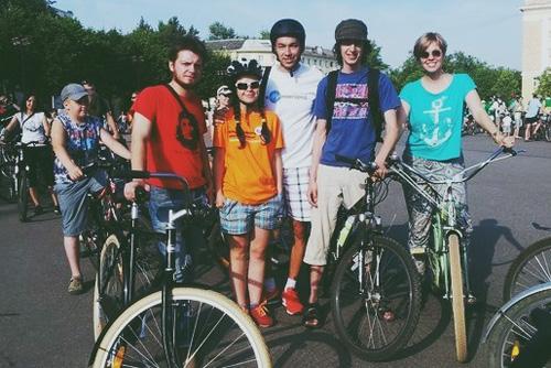 Команда «Нового города» на велопробеге