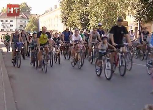 В велопробеге приняли участие около 500 любителей двухколесного транспорта