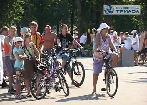 Самым старшим участником велопробега стал 76-летний новгородец