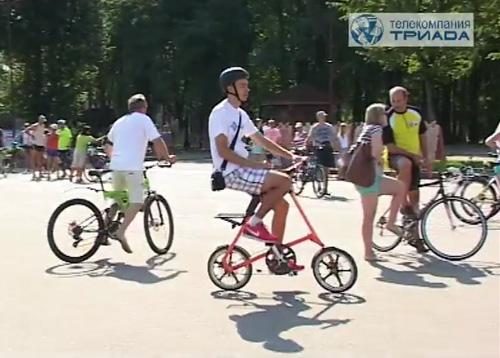 Всего в велопробеге приняли участие около 500 велосипедистов
