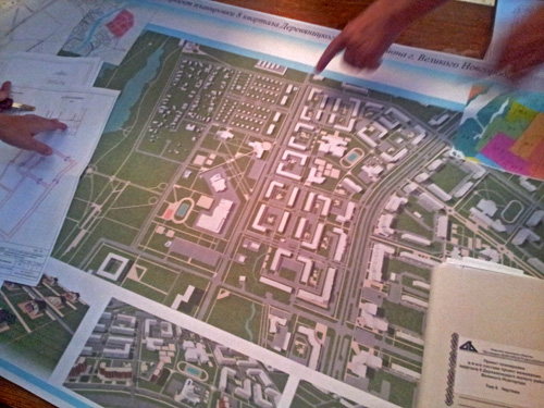 Проект застройки Деревяницкого района