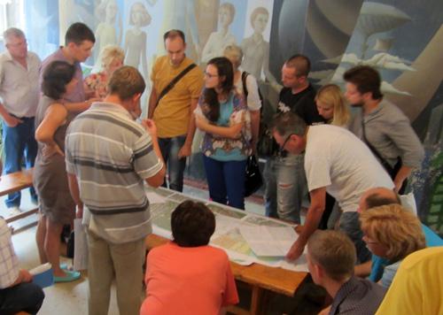 Публичные слушания по проекту планировки Деревяницкого района