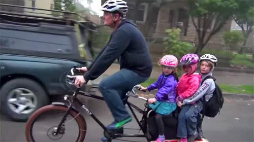 Портленд: в школу на велосипеде