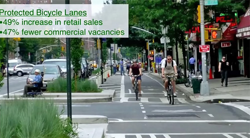 Вполне возможно быстро и дёшево изменить уличное пространство