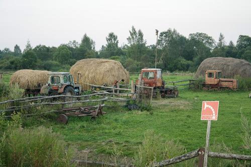 Старая техника в Новгородской области