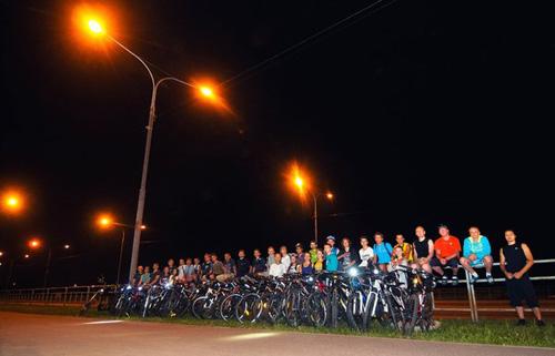 Ночная велопрогулка 2 августа