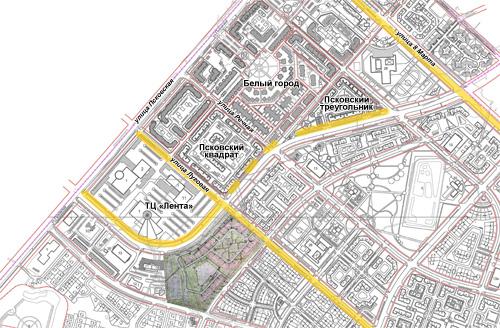 Велодорожки в Псковском районе