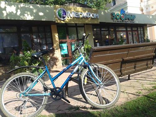 Новый велосипед Ларса Аронссона