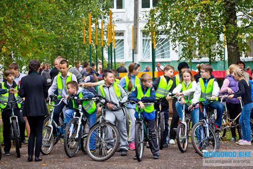 Соревнования по мастерству владения велосипедом