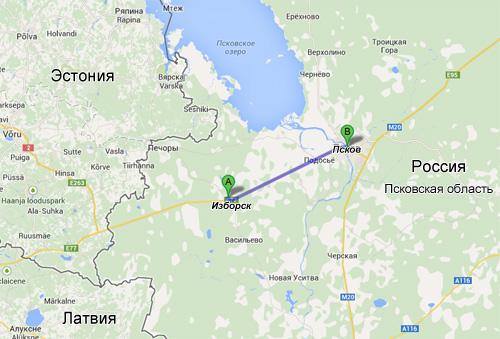 Веломаршрут соединит Изборск и Псков