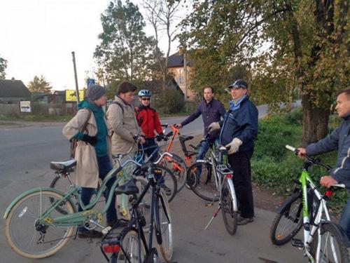 Городская велокомиссия на выезде