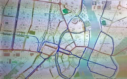 Схема, предложенная архитектором