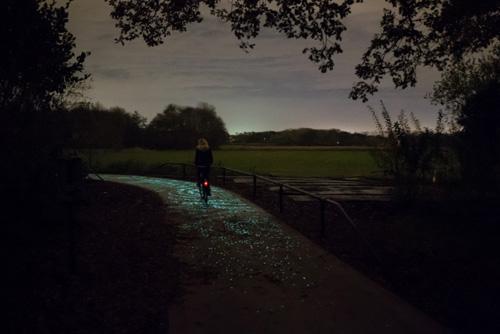 Звёздная велодорожка Ван Гога в Нидерландах