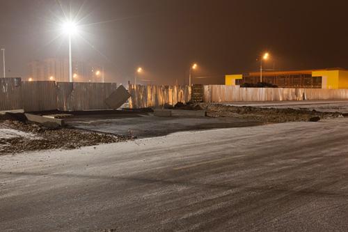 Строительство проездов к ТЦ «Лента»