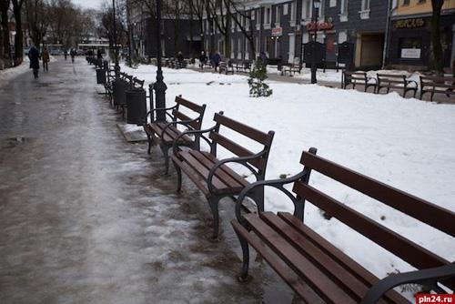 Новая пешеходная улица Пушкина в Пскове
