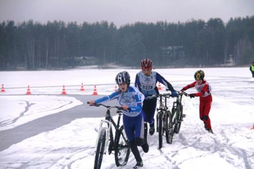 Крестцы в третий раз примут соревнования по зимнему триатлону