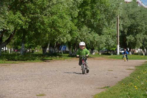 Беговелозаезд в Великом Новгороде
