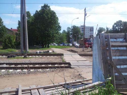 Работы по демонтажу ограждений на Нехинской улице