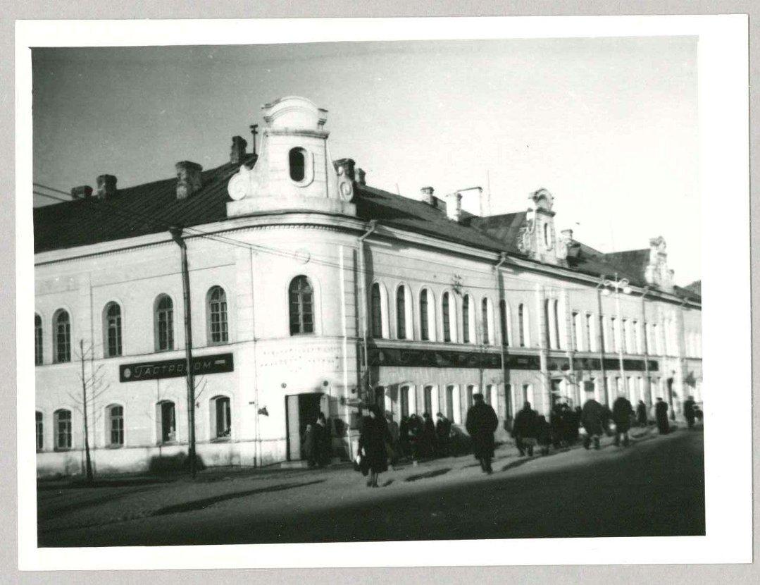 Здание бывшей гостиницы купцов Соловьевых