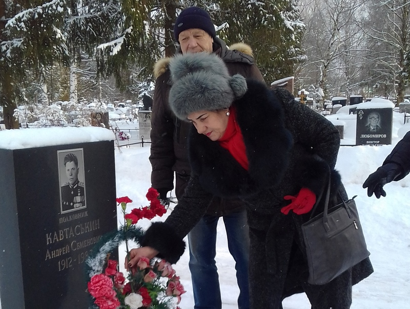 Могила Андрея Кавтаськина