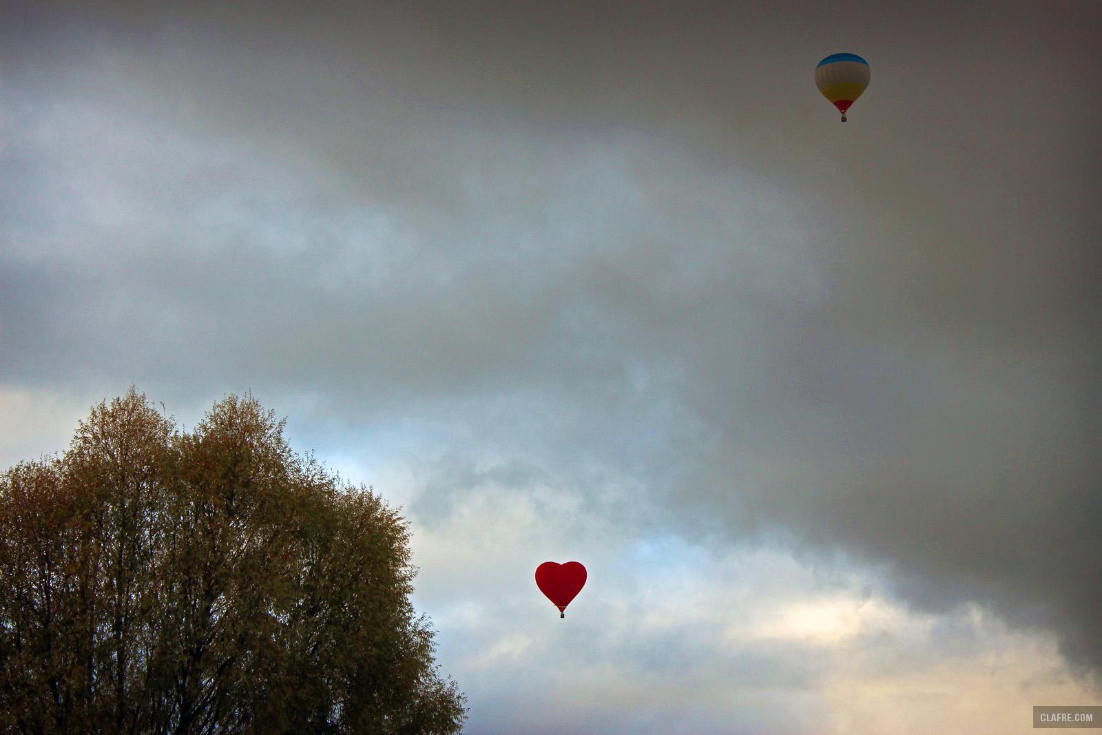 Фестиваль воздухоплавания «Золотая осень в облаках»