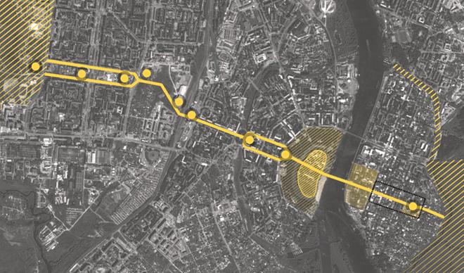 Улица Ильина в структуре города