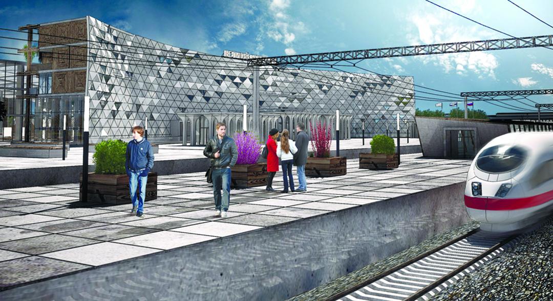 Объединенный пассажирский терминал в Великом Новгороде