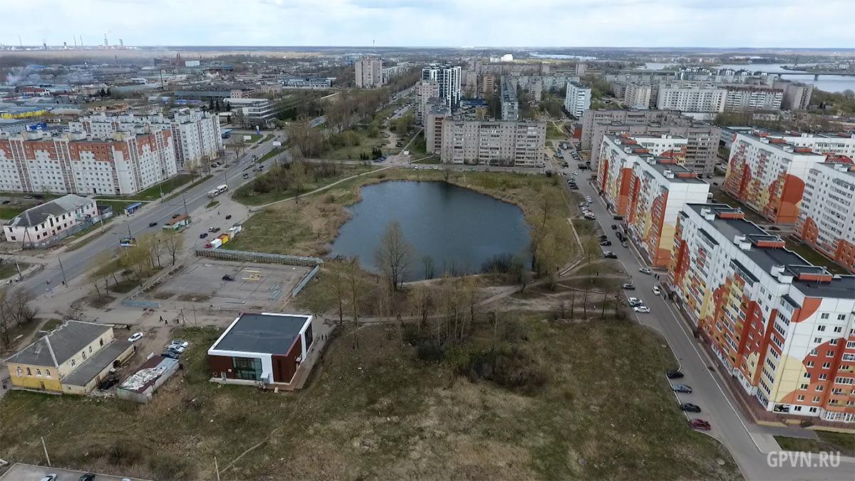 Сквер у пруда у ЖК «Луговой»