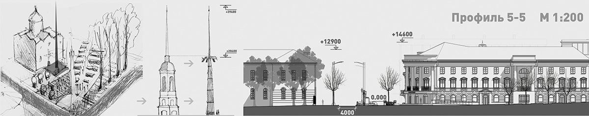 Реконструкция улицы Дворцовой в Великом Новгороде