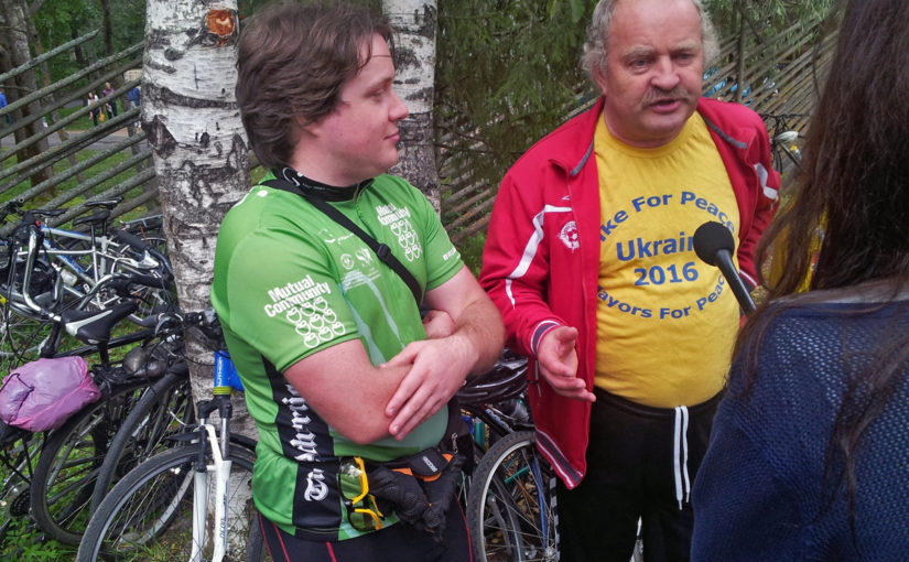 Состоялась встреча участников международного велотура Три столицы России