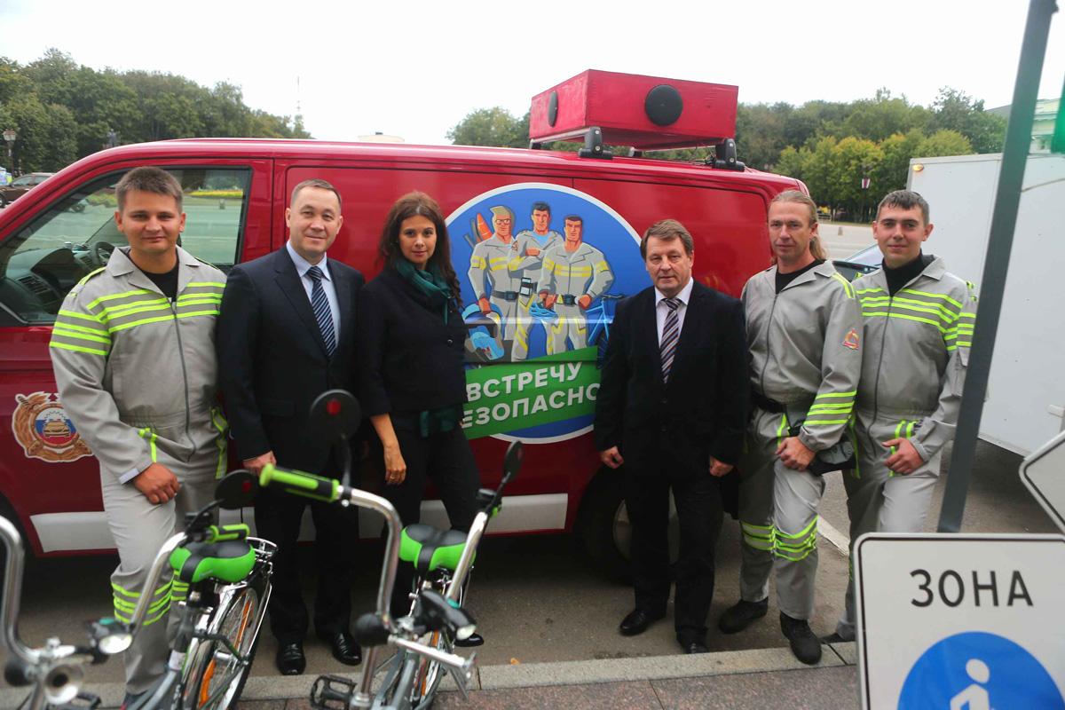 Велосипедисты присоединились к акции ГИБДД «Навстречу безопасности»