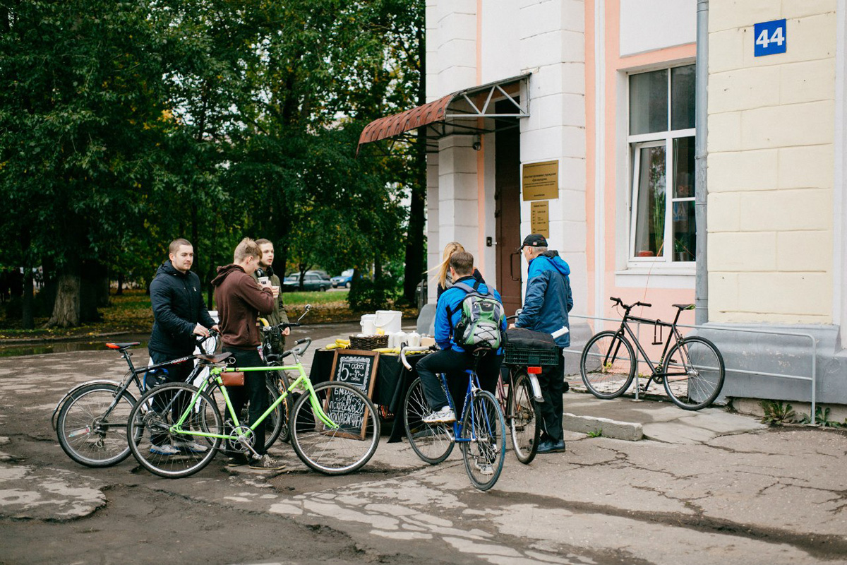 22 сентября — на работу на велосипеде!