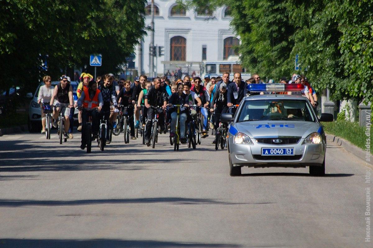Новгородский Велопарад 2016