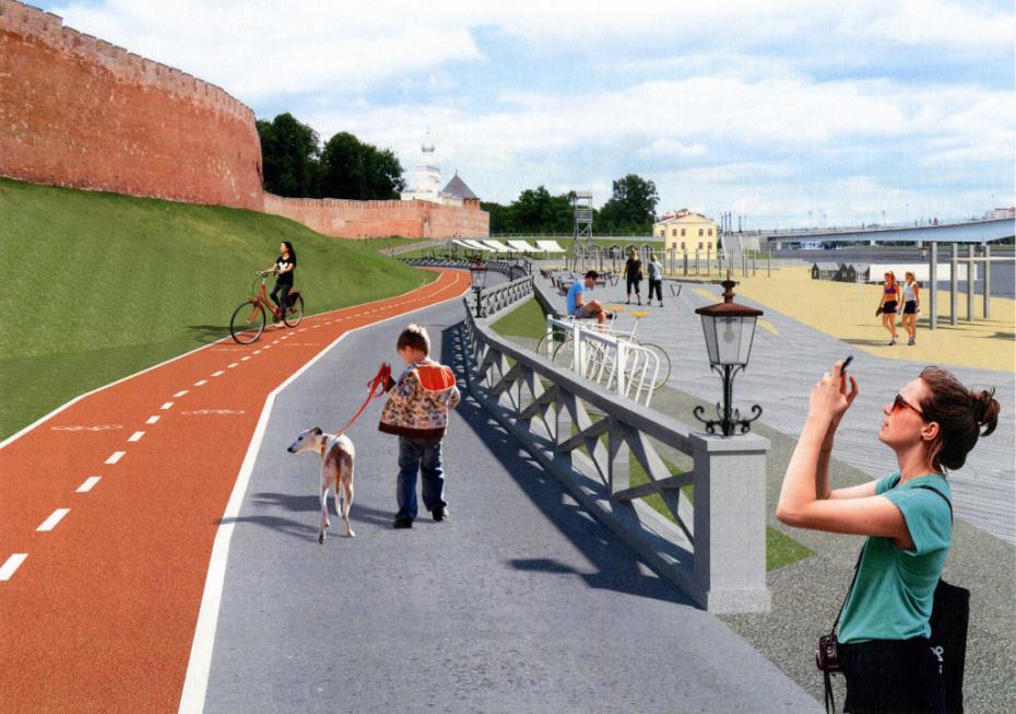 Концепция обустройства набережных реки Волхов