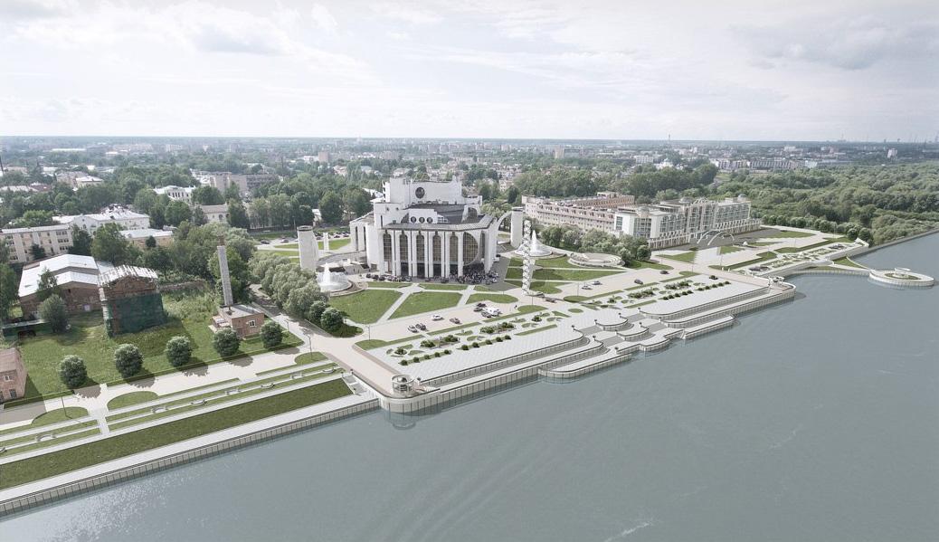 Концепция благоустройства Софийской набережной