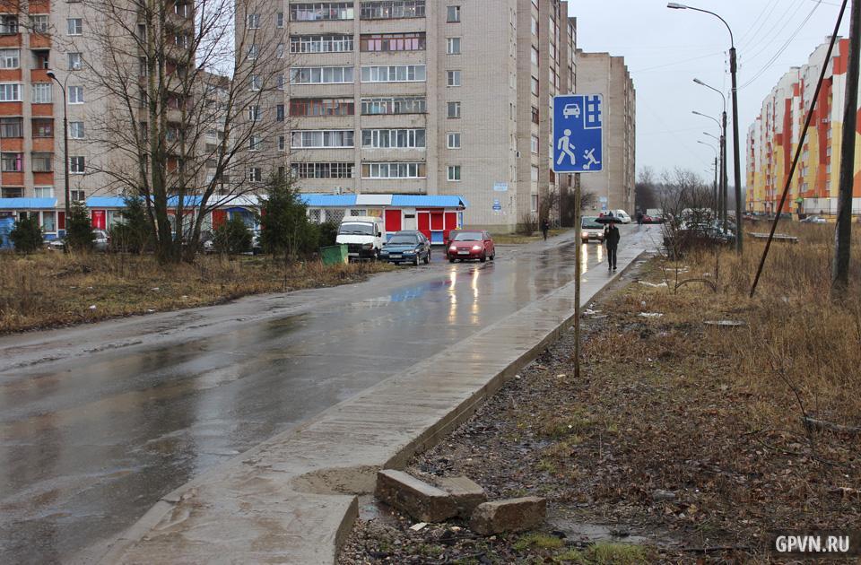 Проезд к ЖК «Луговой»