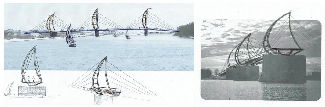 Велопешеходный мост через Волхов