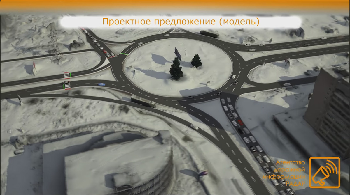 Вид с Большой Московской улицы