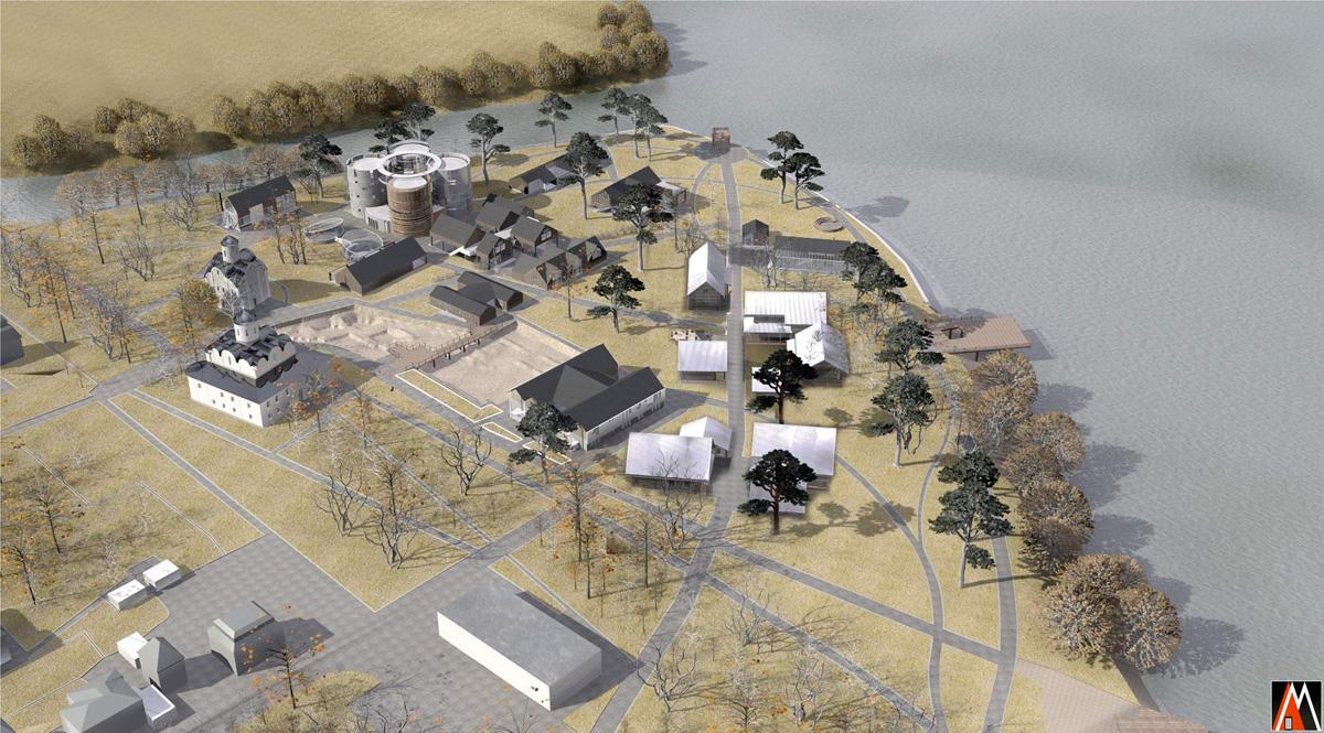 Проект ревитализации Парка на Славне в Великом Новгороде