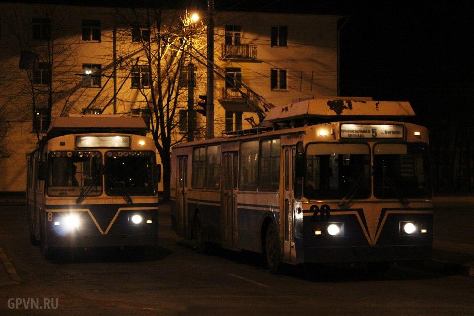 Новгородские троллейбусы