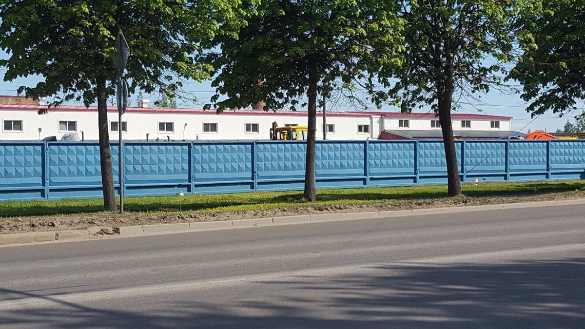 Забор в Колмово