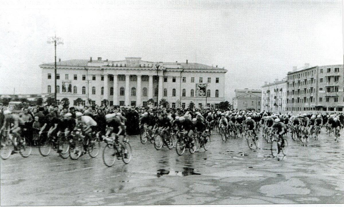 Велопробег. 1958-1959 годы