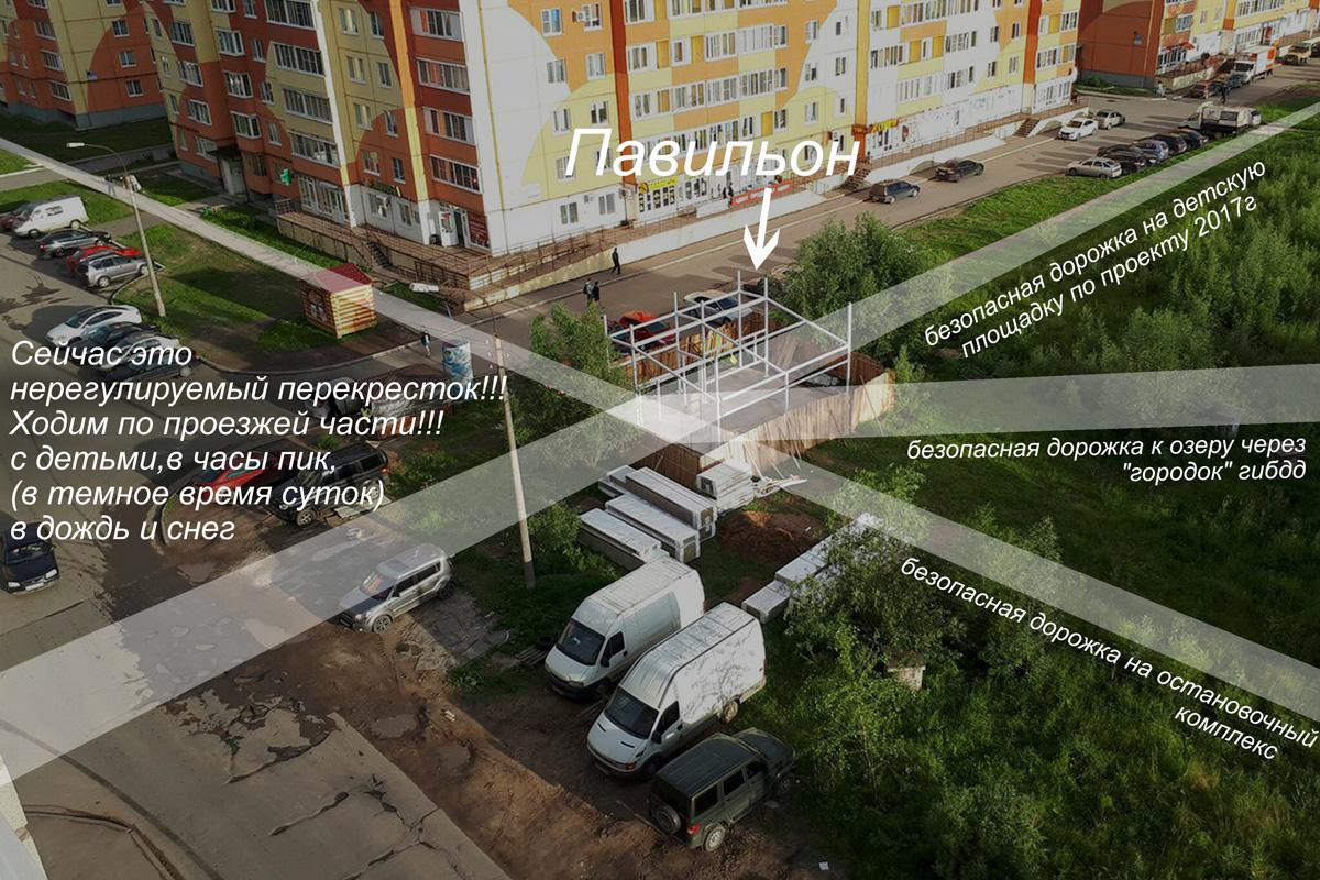Торговый павильон в «Луговом»