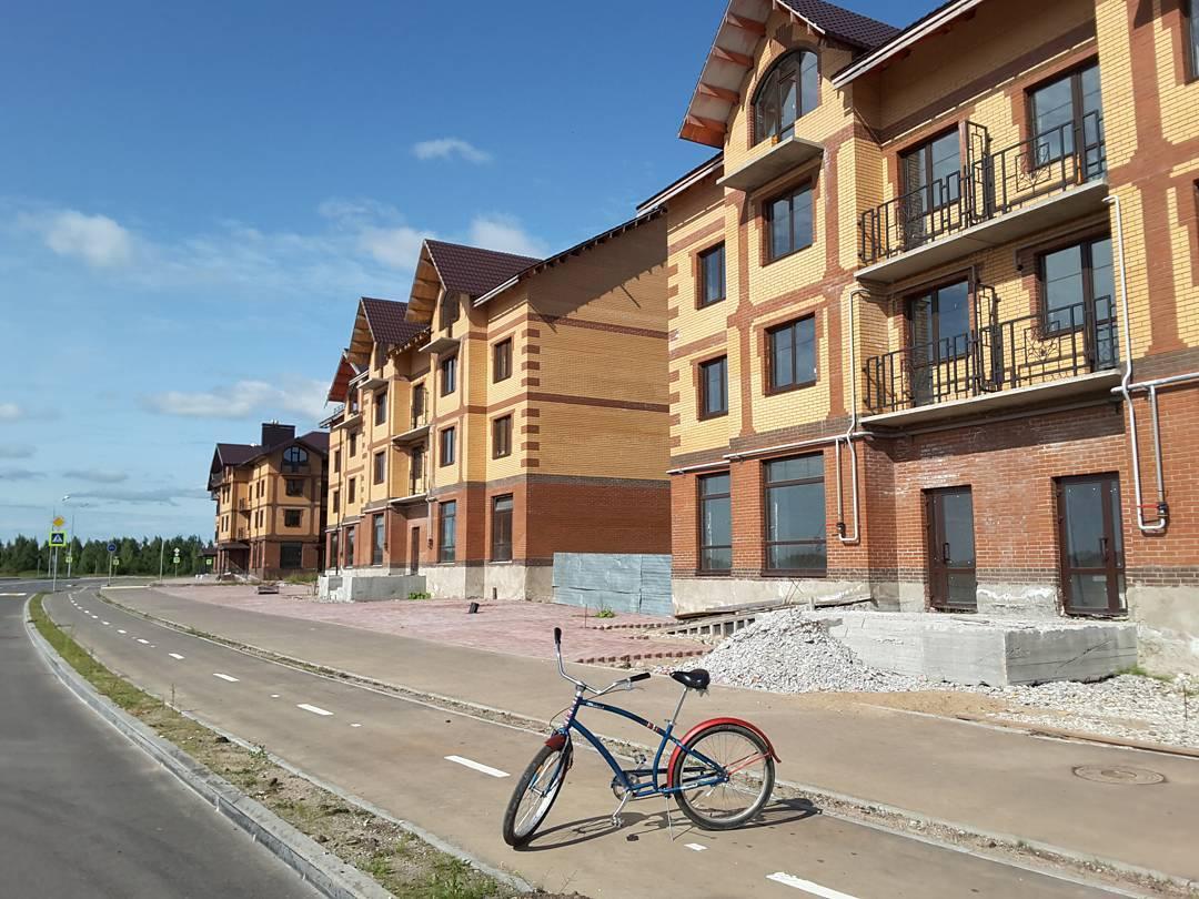 Велодорожка на Аркажской улице