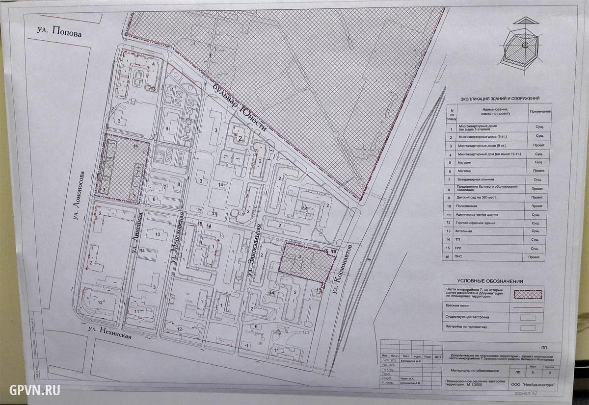 Проект планировки района