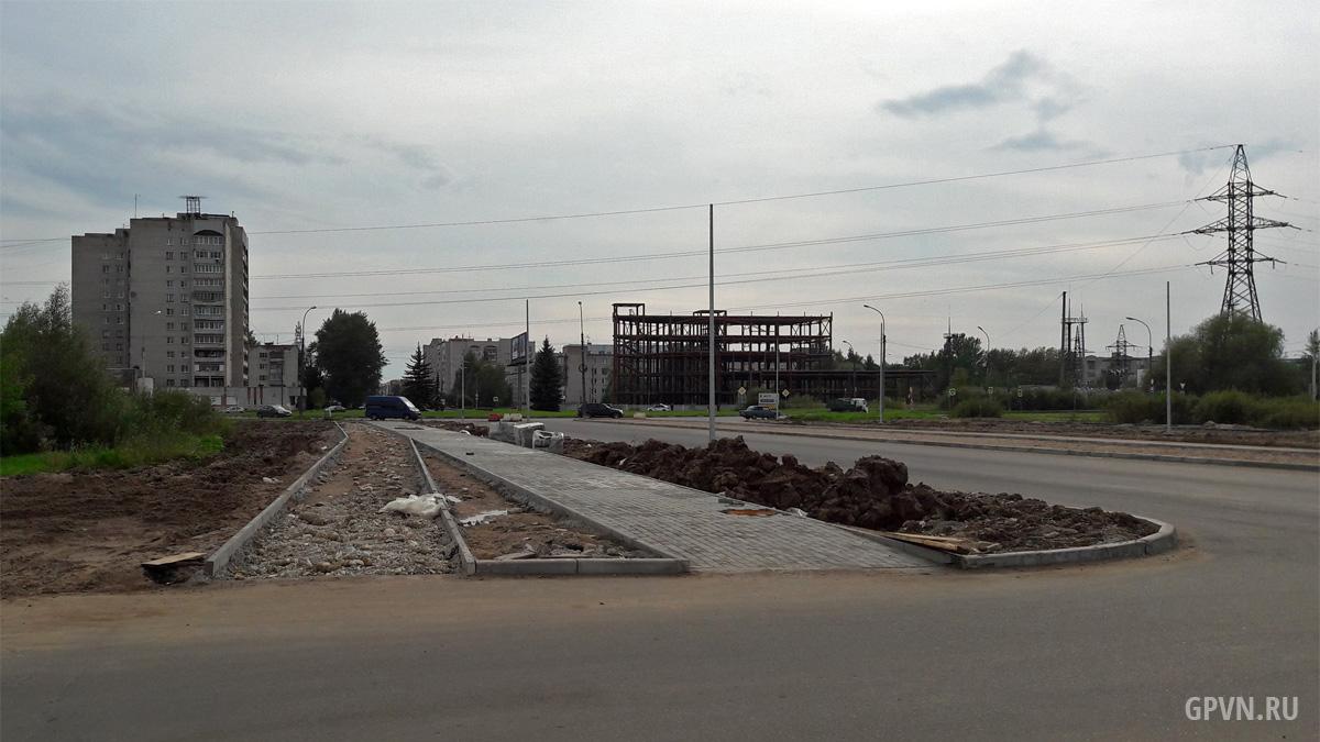 Строительство Большой Московской улицы