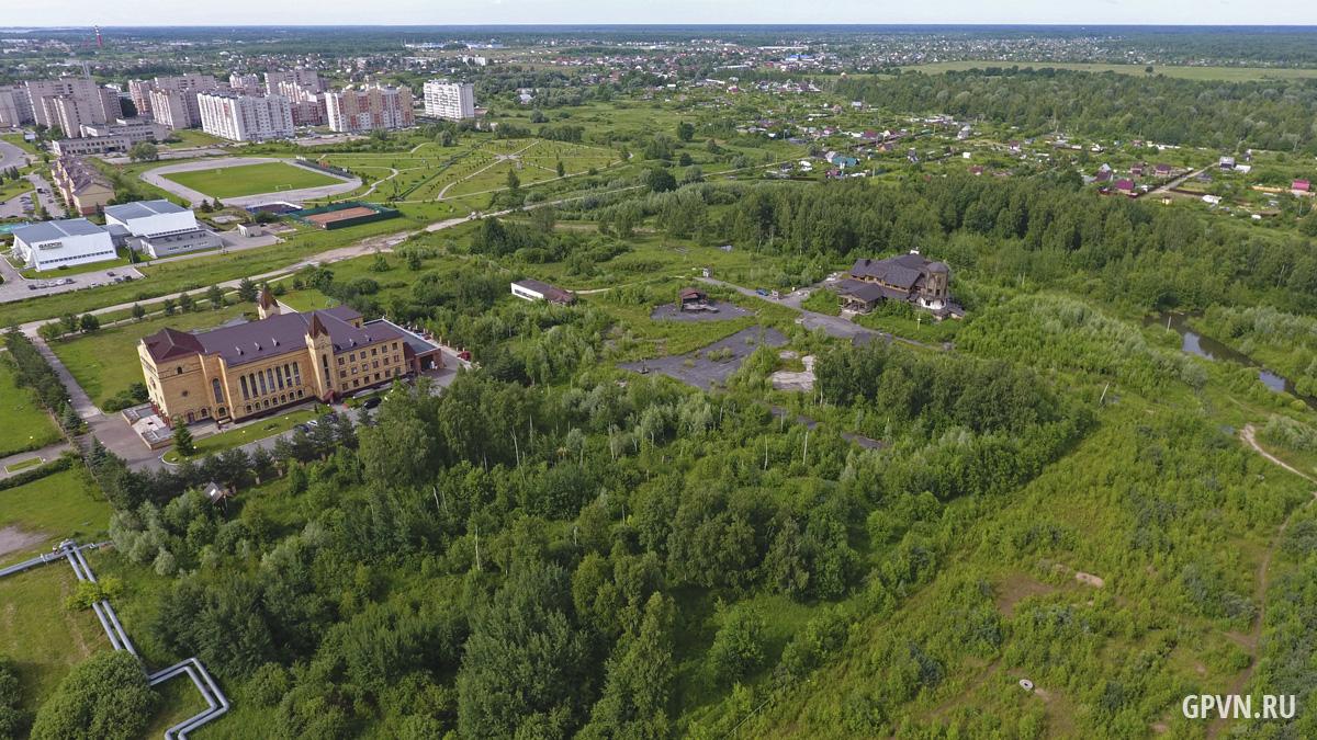 Роща в Западном районе Великого Новгорода